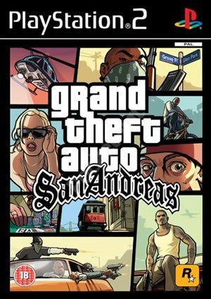 Grand Theft Auto: San Andreas cover