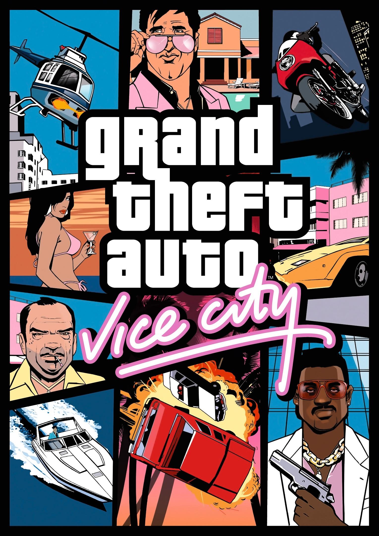 Grand Theft Auto: Vice City cover
