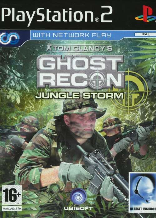 Tom Clancy's Ghost Recon: Jungle Storm cover