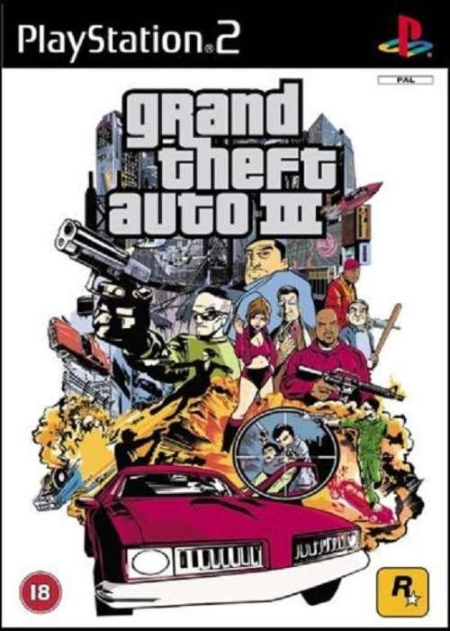 Grand Theft Auto III cover