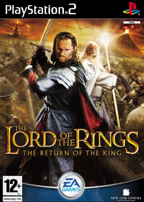 The Lord of the Rings: The Return of the King cover
