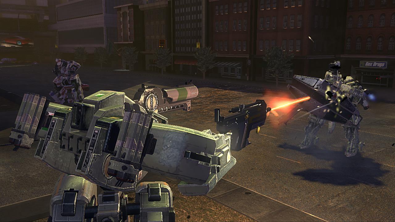Front Mission Evolved Screenshot 5