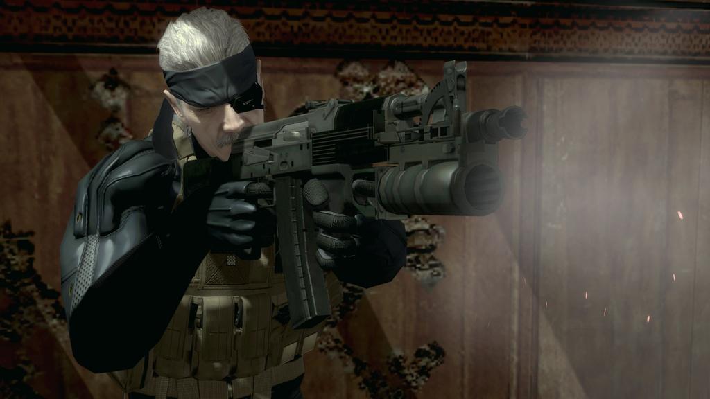 Metal Gear Solid 4: Guns of the Patriots Screenshot 1