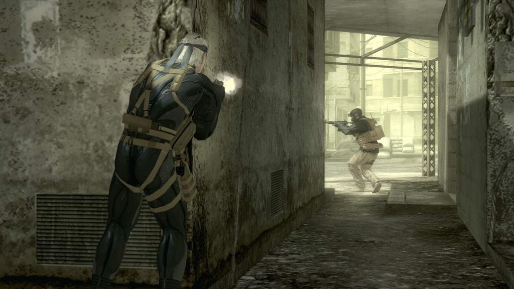 Metal Gear Solid 4: Guns of the Patriots Screenshot 4